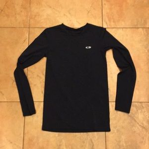 Champion Navy Blue Polyester DriFit Youth XL